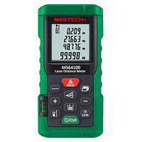 Лазерний далекомір ( лазерна рулетка ) Mastech MS64100 (0,046-100 м) проводить вимірювання V, S, H, пам'ять 99