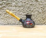 Турка мала декор Серце чорна, фото 2