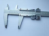 Штангенциркуль металевий 300 мм ціна поділки 0,05 мм з глибиноміром, фото 1