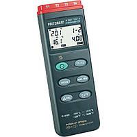 Канальний термометр Voltcraft K204 (від -200 до +1370 °C) з термопарою К-типу. Німеччина