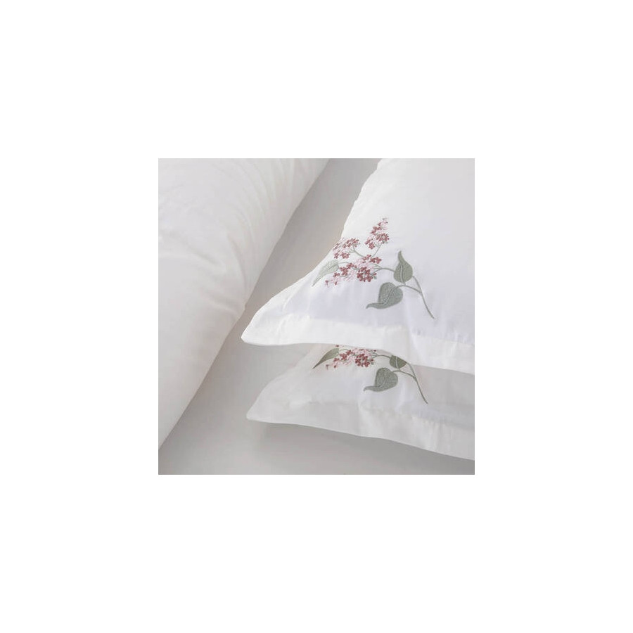 Пододеяльник с наволочками Penelope - Allyssum beyaz белый 200*220+50*70(2)