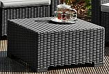 Комплект садовой мебели Allibert by Keter Moorea - California Duo Lounge Set искусственный ротанг, фото 10