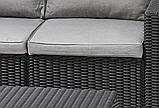 Комплект садовой мебели Allibert by Keter Moorea - California Duo Lounge Set искусственный ротанг, фото 9