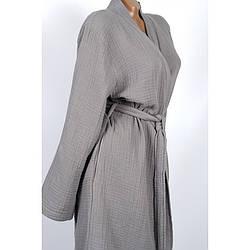 Халат Barine - Cocoon dark grey темно-сірий L