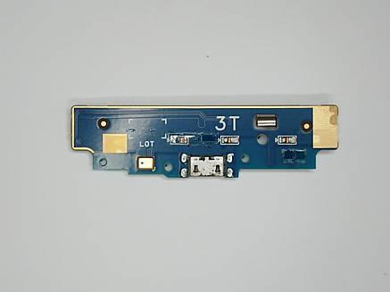 """Шлейф (Flat cable) Asus ZenFone Go (ZB452KG) 4.5 """"з роз'ємом зарядки, з мікрофоном, плата зарядки оригінал б.у., фото 2"""