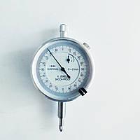Індикатор годинникового типу KM-113-60S-2(0-2/0.001 мм) без вушок, фото 1