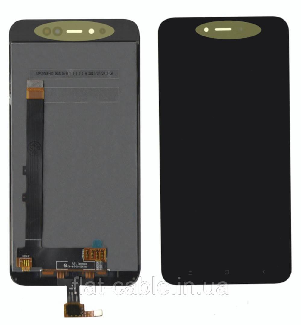Дисплей + сенсор Xiaomi Redmi Note 5A Черный 3/32 gb (OEMC)
