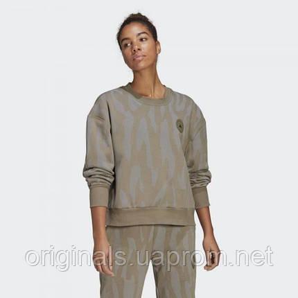 Женский свитшот Adidas by Stella McCartney Sweatshirt GL7670 2021, фото 2