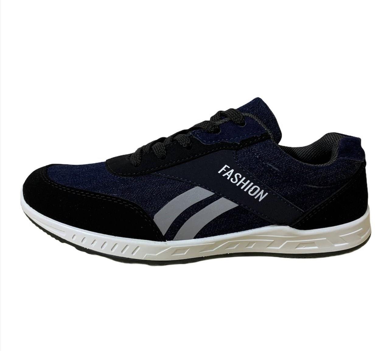 Кросівки чоловічі джинсові сині 43 розмір