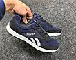 Кросівки чоловічі джинсові сині 43 розмір, фото 5