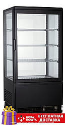 Витрина холодильная GoodFood RT68L черная