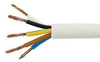 Провод гибкий ПВС 5х1,5 медь