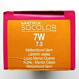 7W (теплый блондин) Стойкая крем-краска для волос Matrix Socolor.beauty,90 ml, фото 2