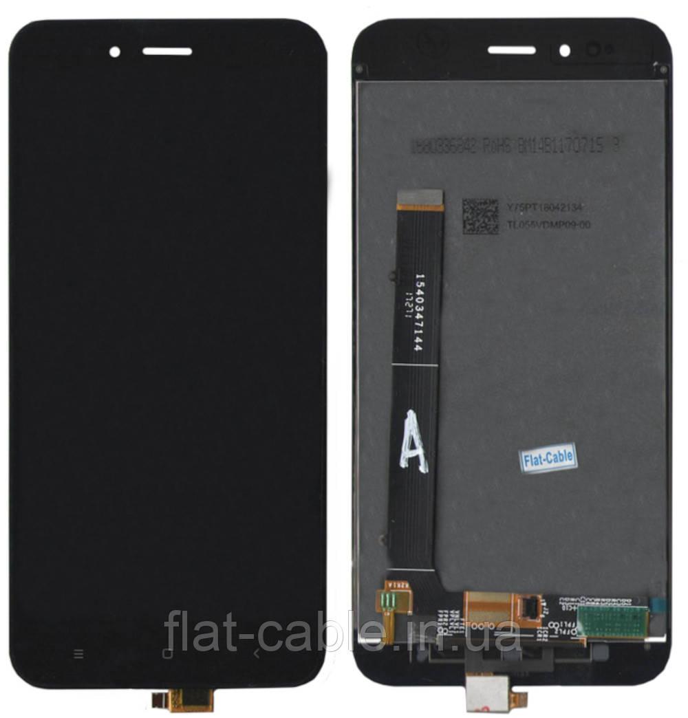 Дисплей + сенсор Xiaomi Mi A1 / mi5x Чёрный (PRC)
