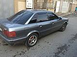 Дефлектори вікон (вітровики) Audi 80 Sd (B3/B4) 1986-1995 (Ауді 80) Cobra Tuning, фото 3