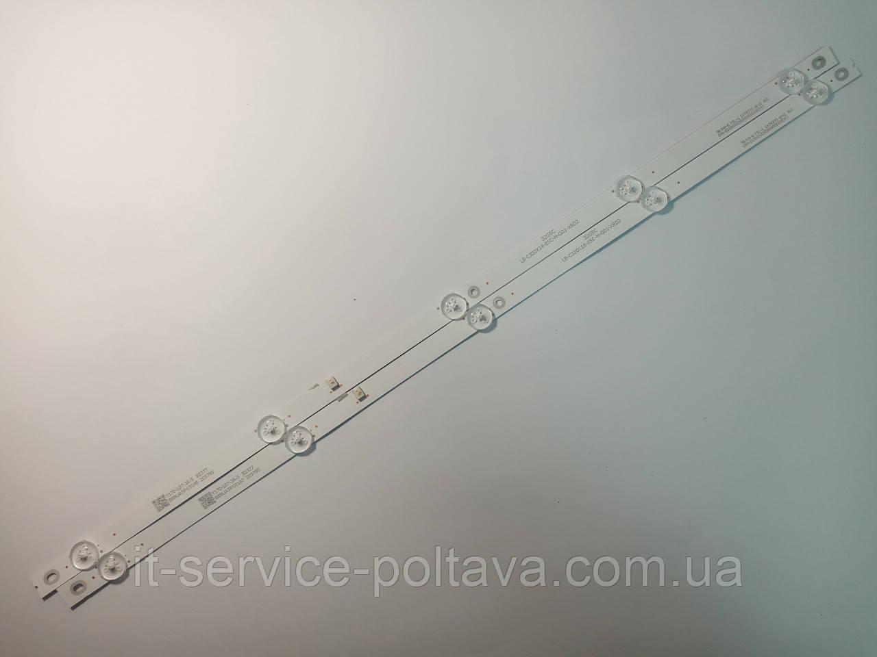 LED підсвітка 32G5C LB-C320X18-E5C-H-G01-XRD2