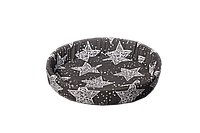 Лежак (лежанка) для кошек и собак №1 Мур-Мяу Серый