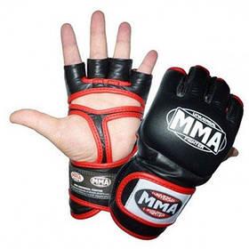 Рукавички для ММА Power System 007 Faito Red XL
