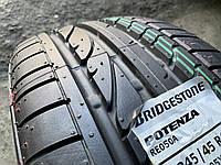 Нові літні шини 245/45R17 95Y BRIDGESTONE Potenza RE050A RFT, фото 1