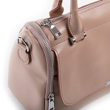 Сумка Женская Классическая кожа ALEX RAI 03-01 2231 розовая, фото 2