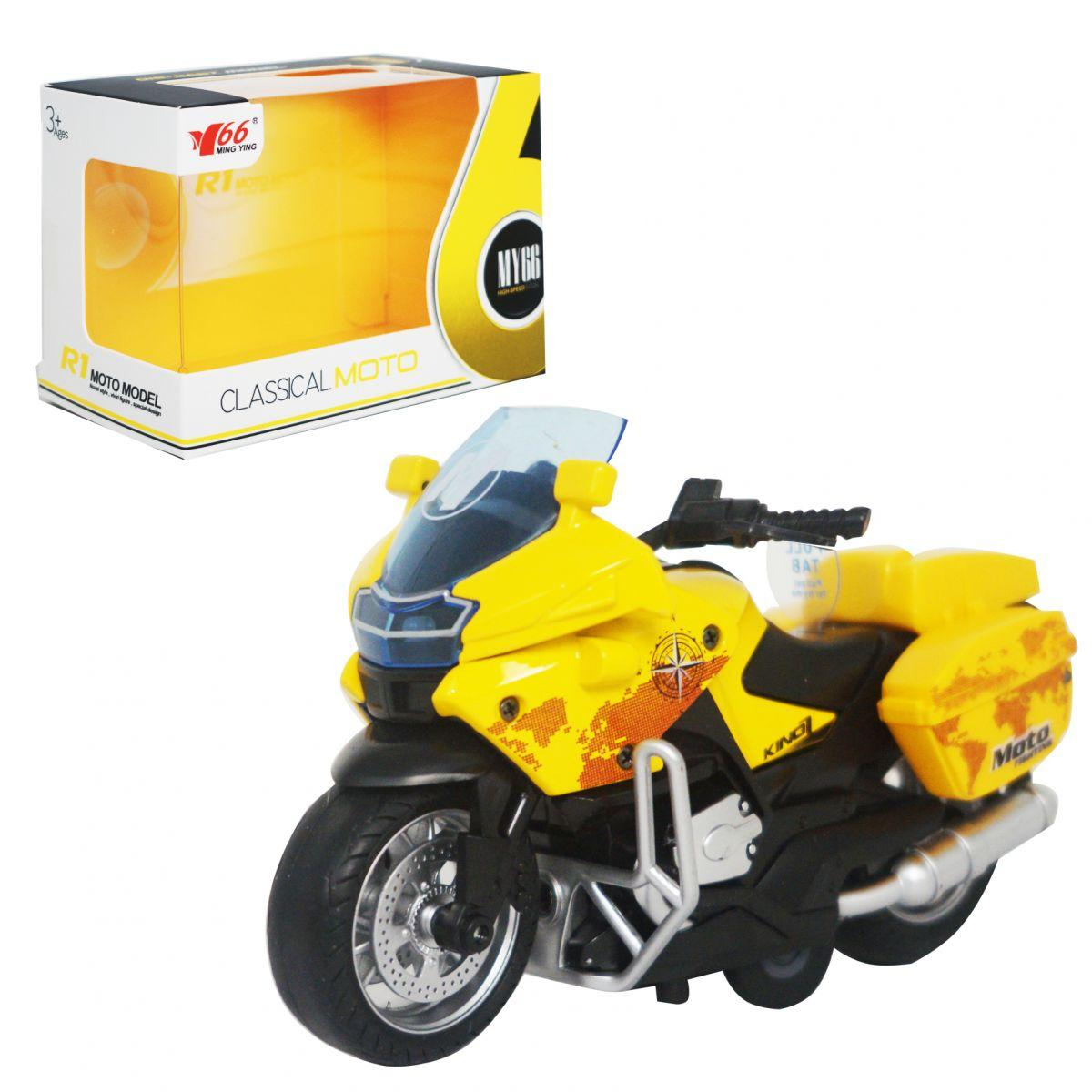 "Мотоцикл ""Classical moto"", жовтий MY66M1217"
