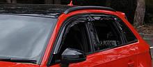 Дефлектори вікон (вітровики) Audi A3 Hb (8V) 2013 (Ауді А3) Cobra Tuning