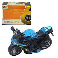 """Мотоцикл """"Classical moto"""", синій MY66M1114"""