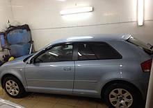 Дефлектори вікон (вітровики) Audi A3 Hb 3d (8P) 2004-2012 (Ауді А3) Cobra Tuning