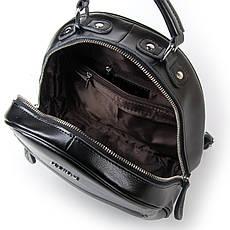 Сумка Жіноча Рюкзак шкіра ALEX RAI 03-01 8715 черная, фото 3