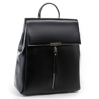 Сумка Женская Рюкзак кожа ALEX RAI 03-01 373 черная, фото 2