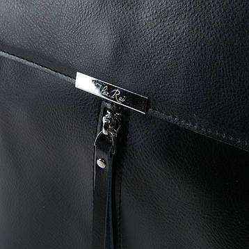 Сумка Жіноча Рюкзак шкіра ALEX RAI 03-01 373 черная, фото 2