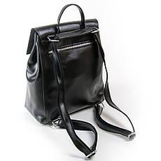 Рюкзак женский кожаный ALEX RAI 03-01 373 черная, фото 2