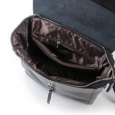 Рюкзак женский кожаный ALEX RAI 03-01 373 черная, фото 3