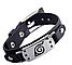"""Набор аксессуаров Наруто: Повязка """"Скрытый Лист"""", кольцо Шаринган, цепочка Скрытый Лист, браслет -Naruto Set, фото 4"""