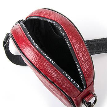 Сумка Женская Клатч кожа ALEX RAI 1-02 39032-2 бордовая, фото 2