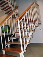 Дача лестница на второй