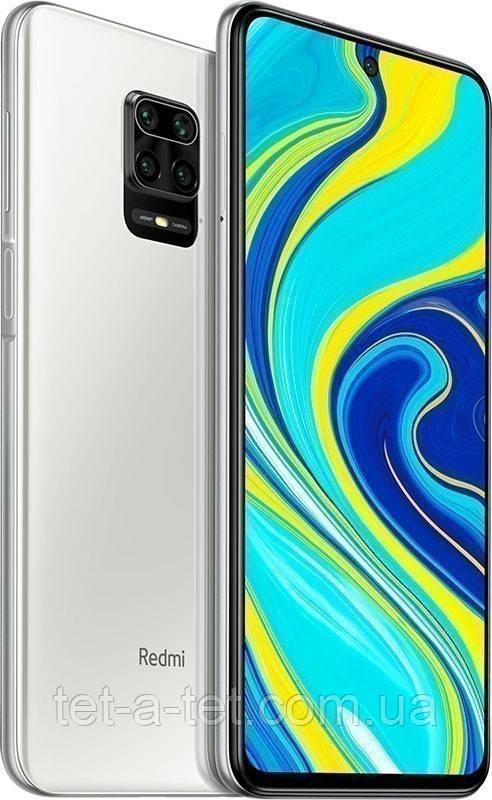 Смартфон Xiaomi Redmi Note 9S 4/64GB Glasier White (UA UCRF)