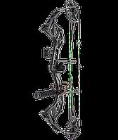 Блочний Лук Man Kung MK-СВА5ВК (довжина: 762мм, сила натягу: 18кг), комплект, чорний