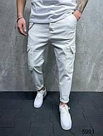 Чоловічі джинси-карго 2Y Premium 5991 white