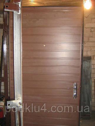 Двері вхідні металеві, фото 2