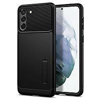 Чехол Spigen для Samsung Galaxy S21 - Slim Armor, Black (ACS02443)