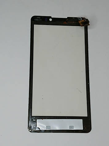 Сенсор (тачскрін) для Prestigio PAP 4505 чорний Оригінал б.у., фото 2