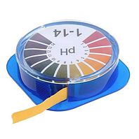 Лакмусовий папір ( pH-тест ) 1-14рН в рулоні 5 м
