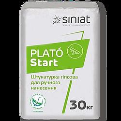 Гипсовая штукатурка Plato Start 30кг Siniat стартовая Синиат