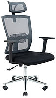 Кресло сетка черное Зума richman