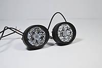 Светодиодная LED фара круглая рабочая 10W° Вт,(3Вт*6ламп)