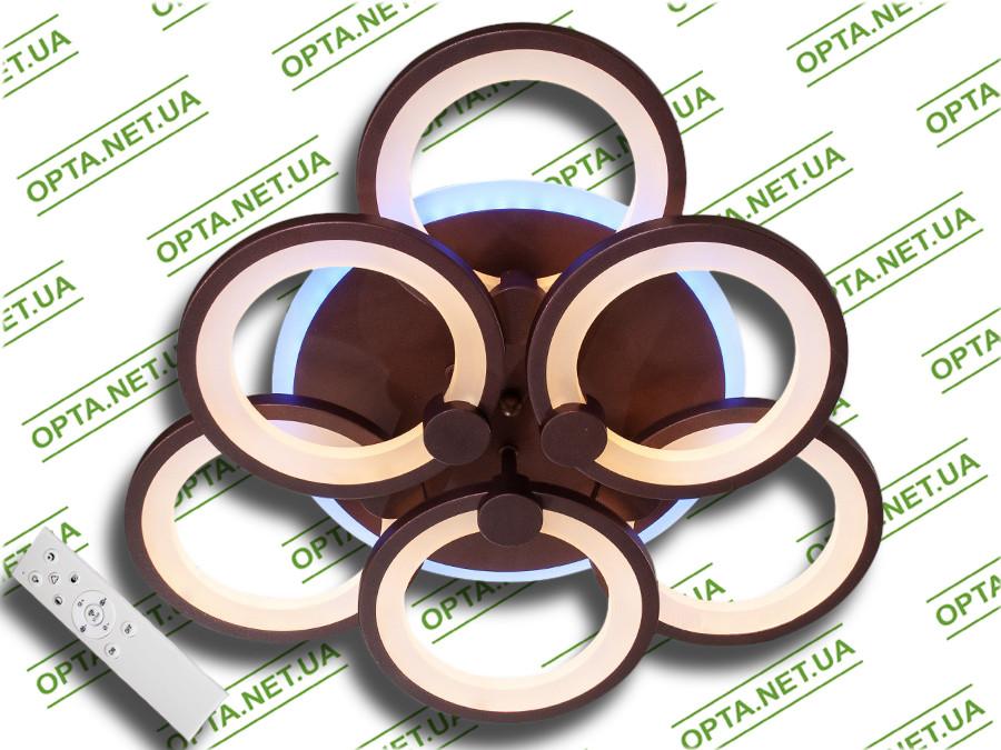 Светодиодная люстра  MX2280/3+3S WH LED 3color dimmer (Белый) 105W