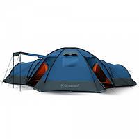 Кемпинговая многоместная туристическая палатка с тремя комнатами Trimm Bungalow II