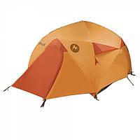 Кемпинговая четырехместная туристическая палатка Marmot Halo 4P с двумя входами