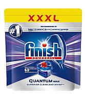 Капсулы для посудомоечной машины Finish Quantum Max, 60 шт.